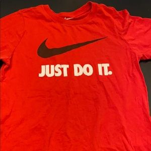 "Nike""just do it"" t shirt"
